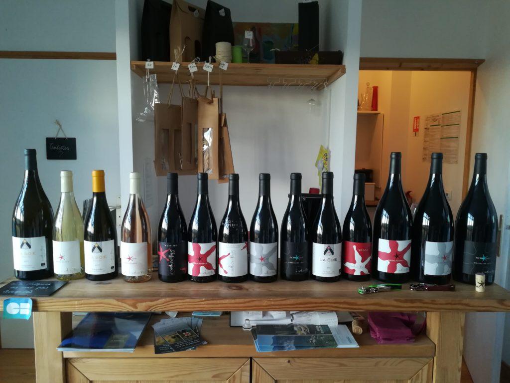 Gamme des vins du Domaine Chemin des Rêves