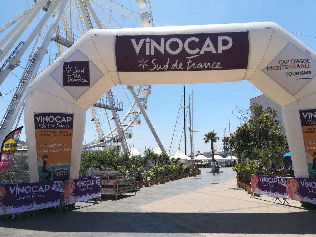 Entrée du Vinocap au Cap d'Agde