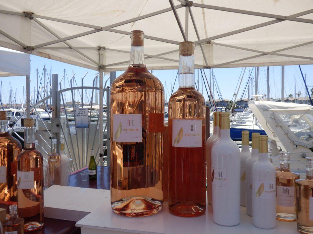 Jeroboam et magnum de rosé lors du Vinocap 2019