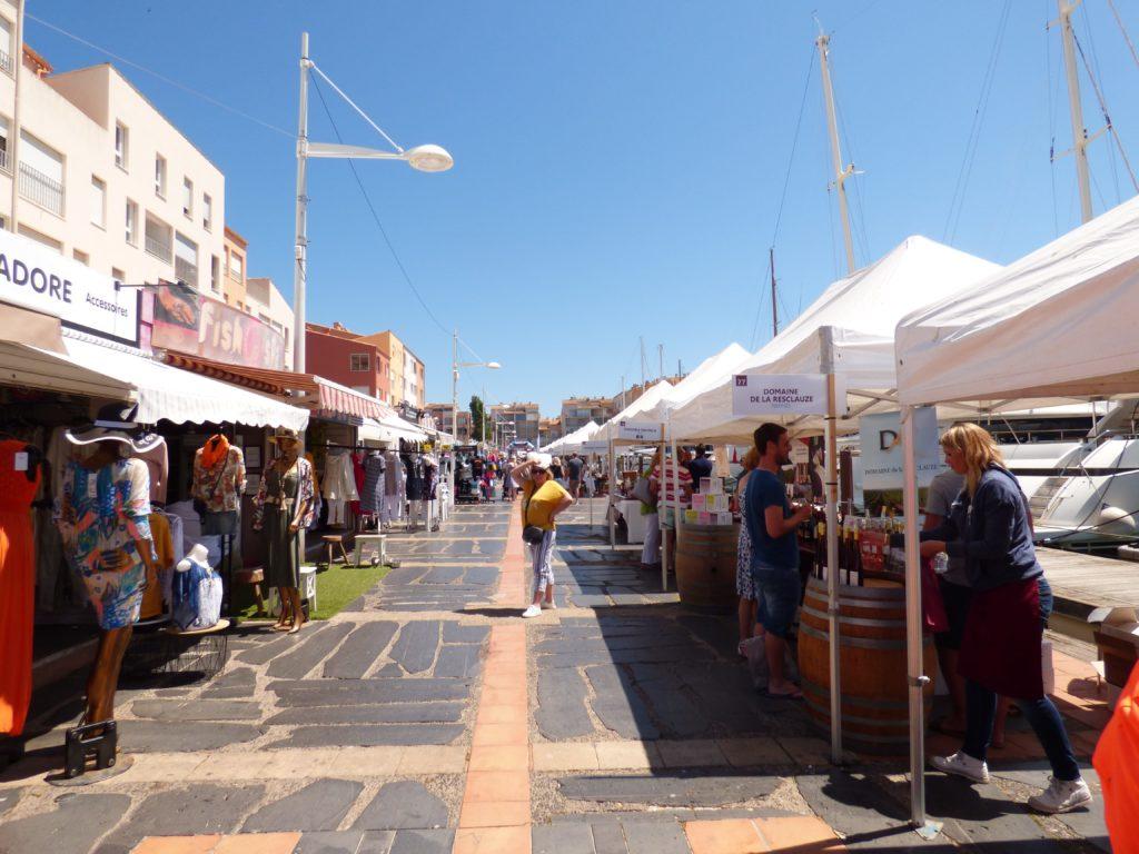 Le Vinocap du Cap d'Agde : entre boutiques et vignerons locaux