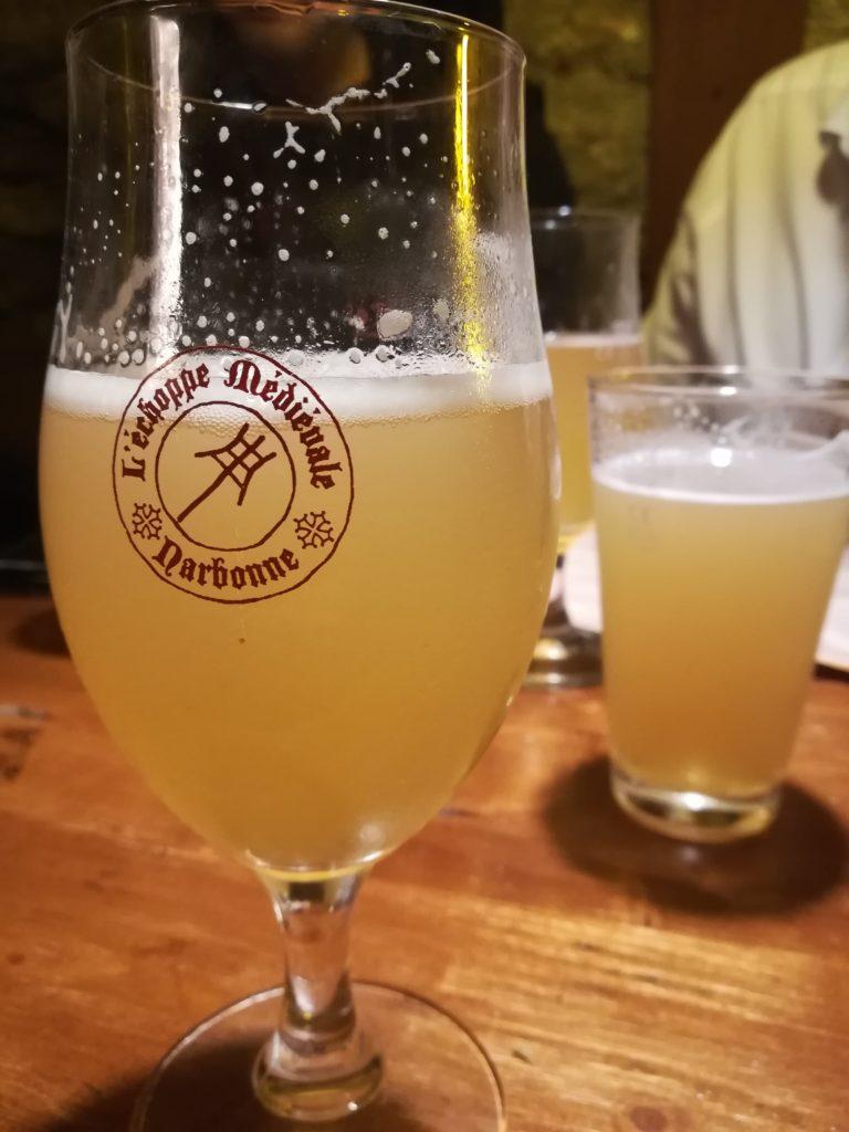 Bière printanière de l'Antre de l'échoppe à Narbonne