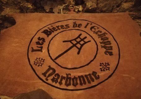 Enseigne bar Narbonne l'Antre de l'échoppe