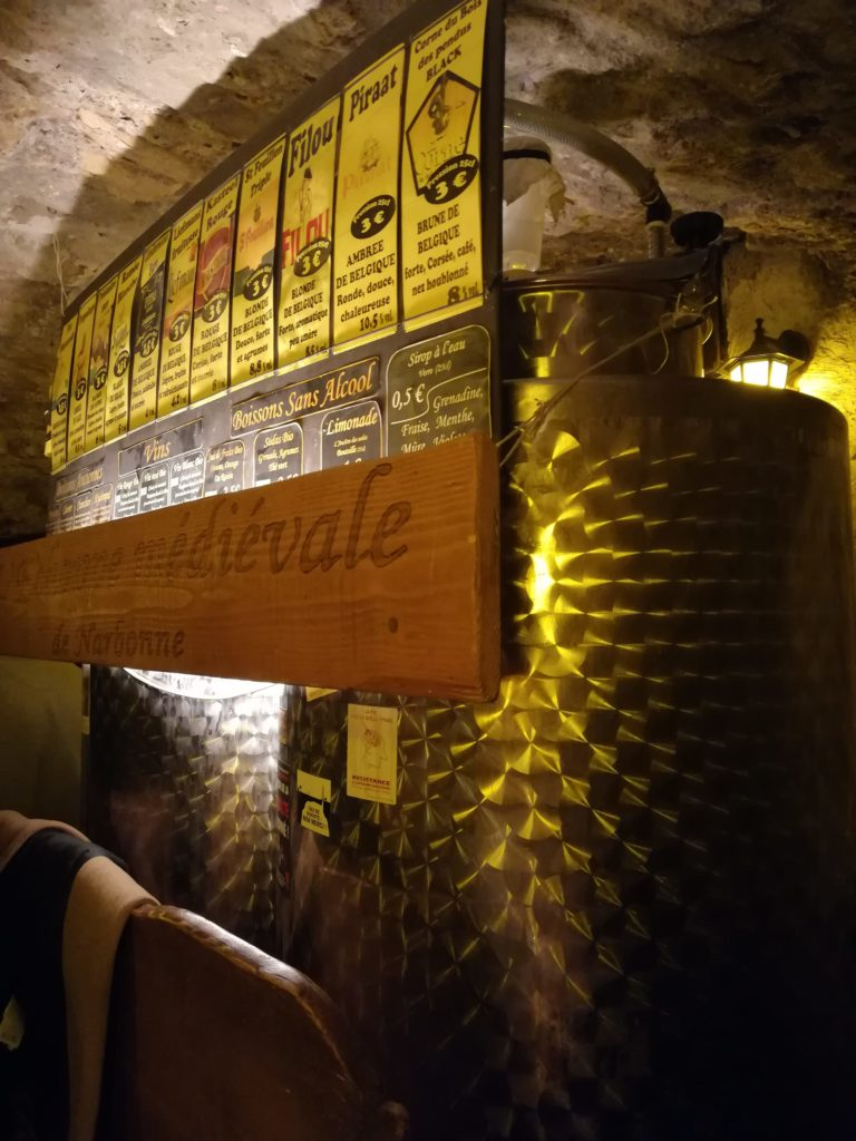Cuves de brassage du bat de l'Antre de l'échoppe à Narbonne