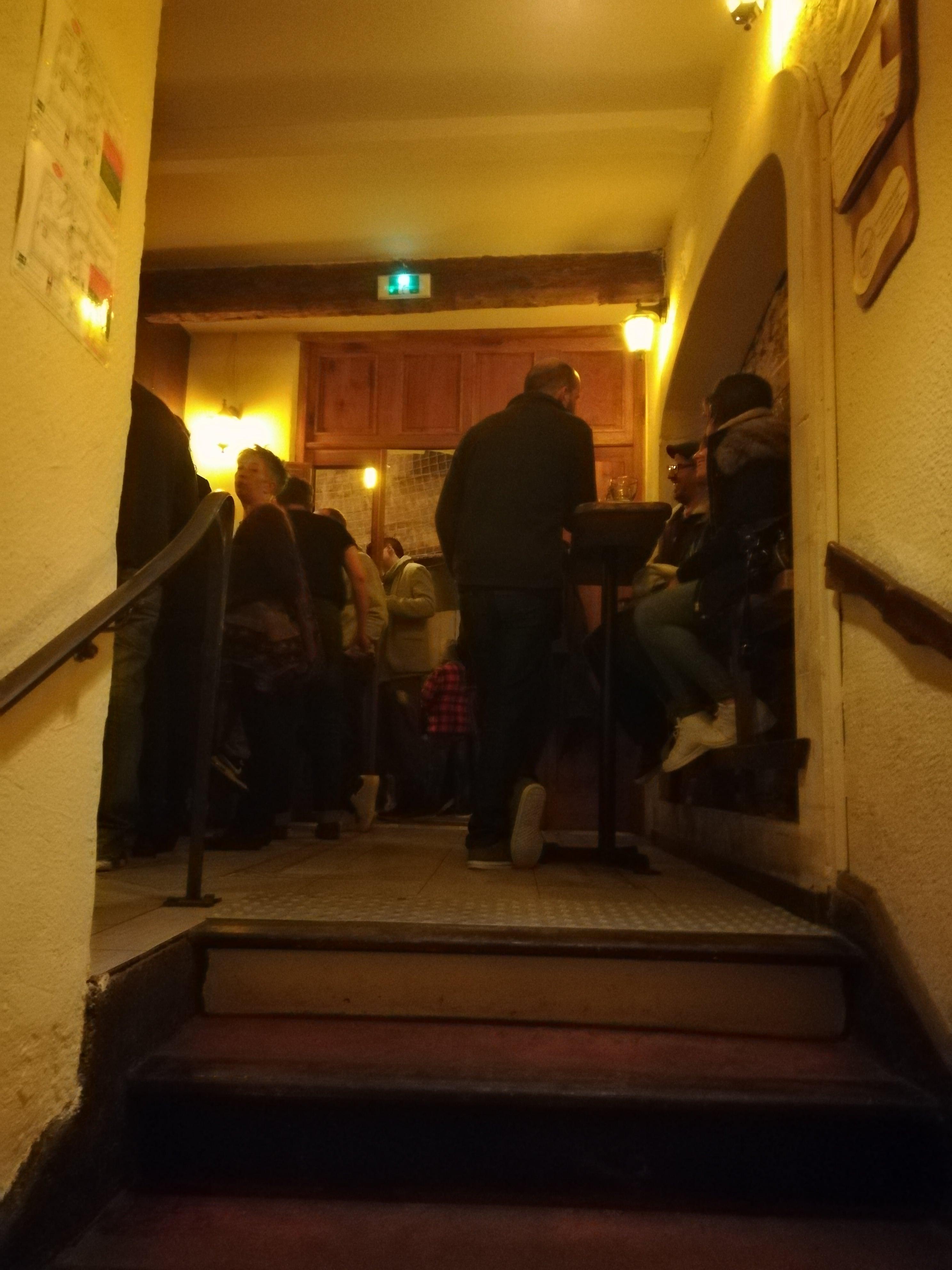Palier de l'Antre de l'échoppe, bar à Narbonne