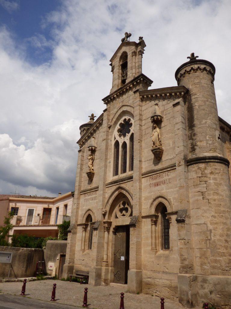 Eglise du village Le Pouget