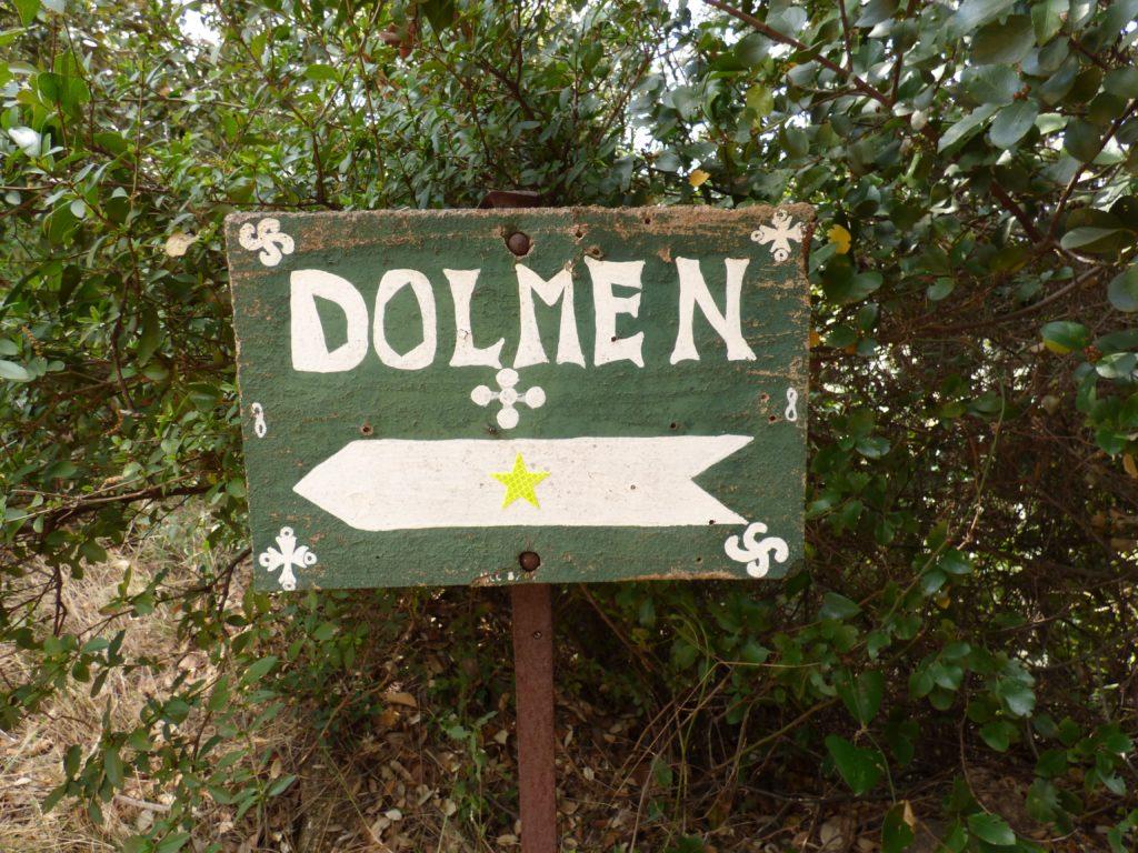 Panneau dolmen le Pouget