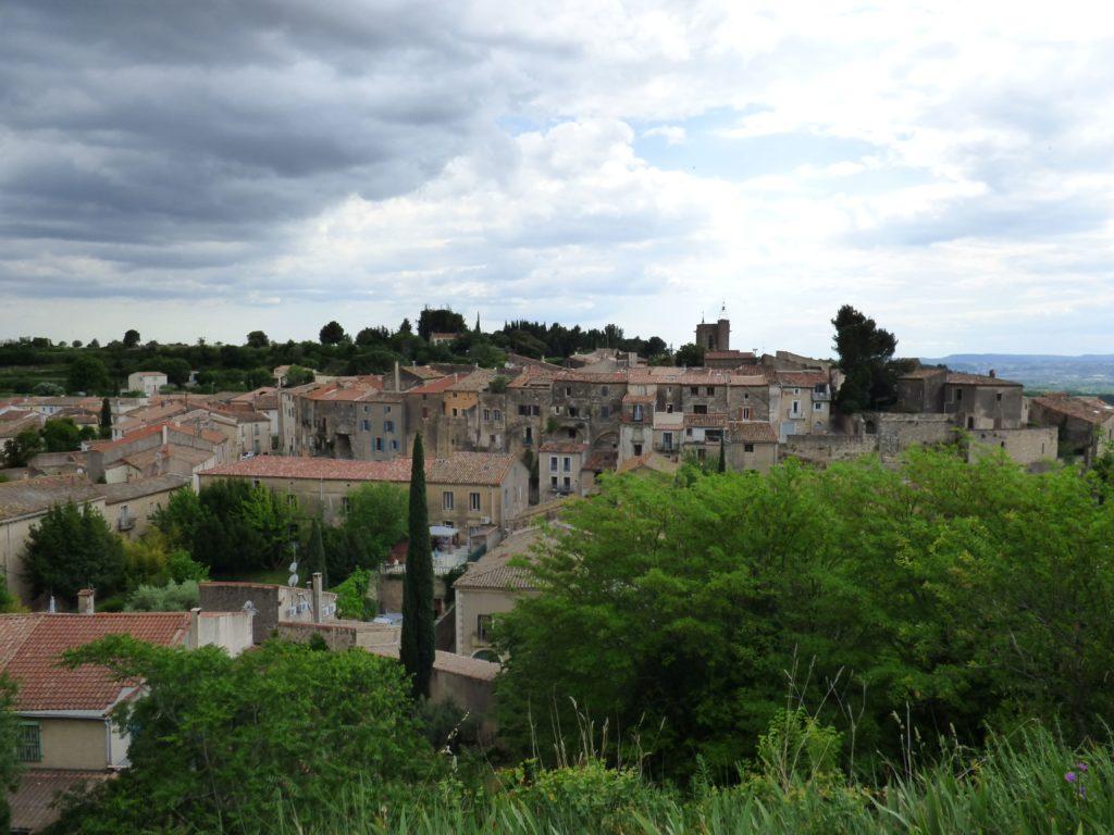Vue du village Le Pouget