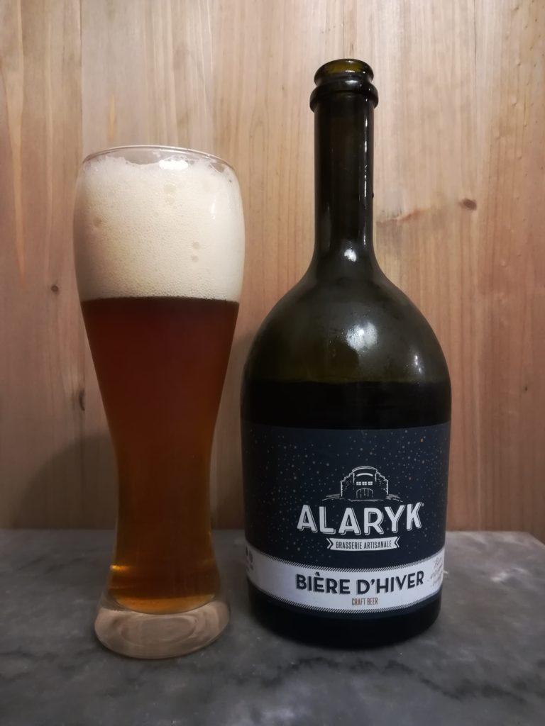 Bière d'hiver brasserie Alaryk