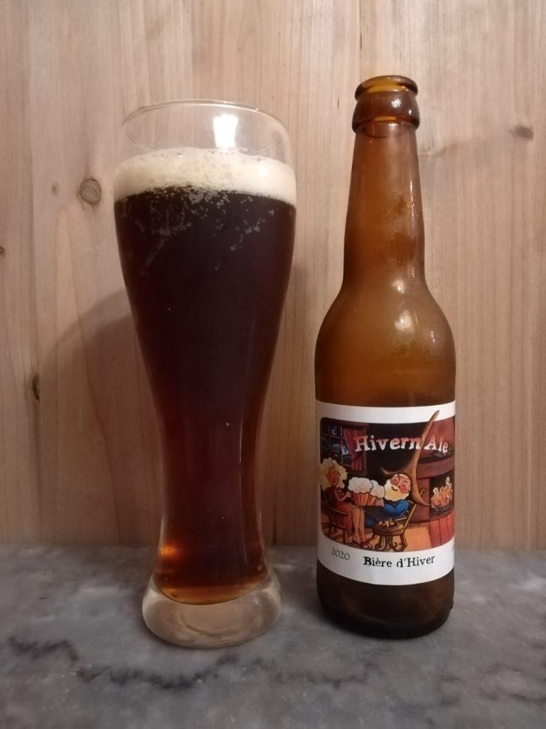 Bière hivernale brasserie des garrigues