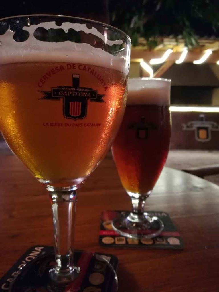 Bière ambrée & bière d'automne au gingembre Cap d'Ona