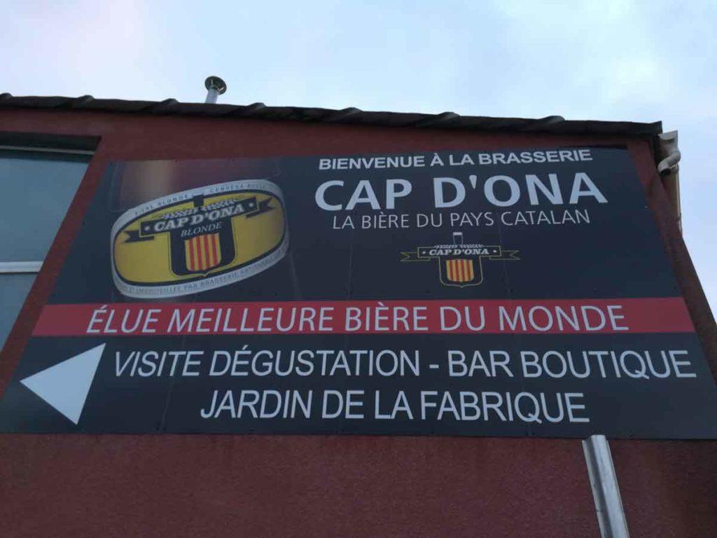 Panneaux d'entrée Cap d'Ona