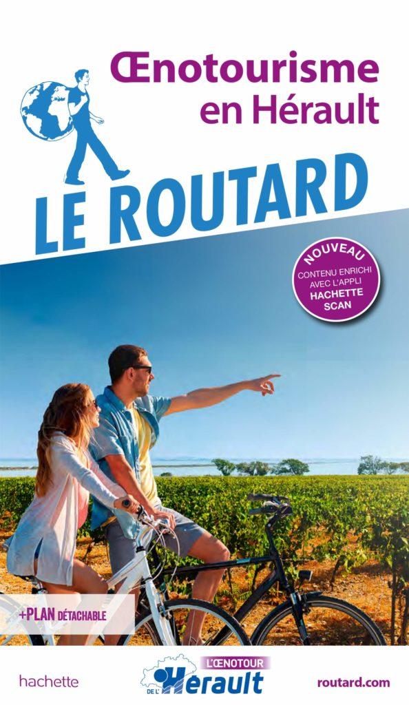 Livre oenotourisme en Hérault - le routard